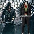 Assassin's Creed Синдиката Джейкоб Косплей Костюм Для Взрослых Assassins Creed Костюм Косплей Одежда Полный Комплект Хэллоуин Заказ