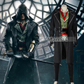 Assassin's Creed Syndicate Jacob Cosplay Costume Adult Assassins Creed Costume Cosplay Clothing Full Set Halloween Custom Made