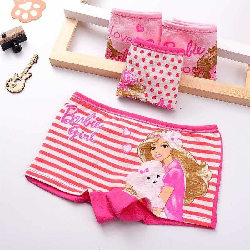 New Lovely Cotton Children Panties 4 Pcs/lot kids Underwear Briefs Female baby girl panty Children Clothing