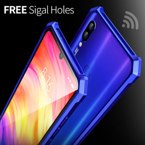 Image 5 - OMEVE for Xiaomi Redmi Note 7 Bumper Case Redmi Note7 Pro Aluminum Alloy Metal Frame Bumper Cover for Redmi Note 7 Pro 6.3 inch