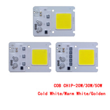 10pcs/lot  LED COB CHIP 20W 30W 50W Cold White/Warm White/Golden AC220V Input with Smart IC CHIP For DIY Floodlight Outdoor lamp 10pcs lot led cob chip 20w 30w 50w white warmwhite golden ac220v with smart ic light beads for diy floodlight outdoor lamp