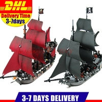 2017 DHL LEPIN 16006 Pirates Of The Caribbean The Black Pearl 16009 Queen Anne S Revenge