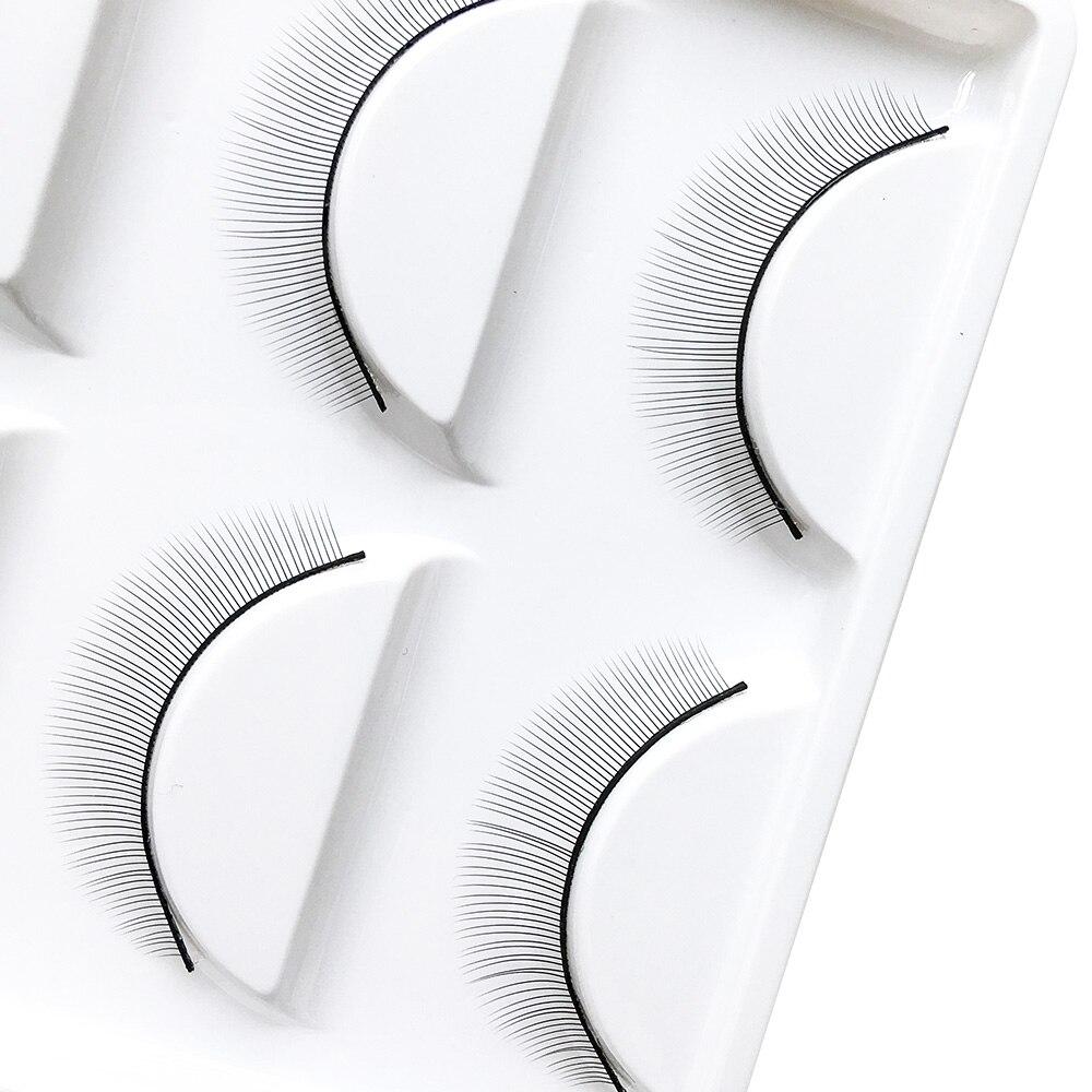 Image 3 - NAGARAKU  10trays/Set False Eyelashes Handmade Training Lashes For Beginners Eyelash Extensions  Beauty Salon Student PracticeFalse Eyelashes   -