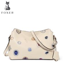 free delivery  Cow Leather  Women bag    2016 new fashion shoulder bag Leisure wild Messenger bag