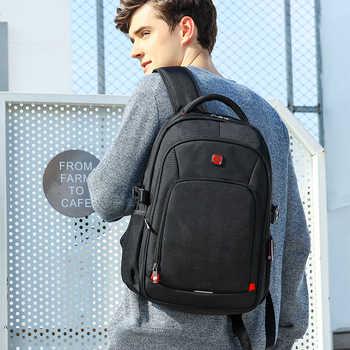 Men Backpacks Rucksack Women Bagpack Travel Men\'s Backpack for 15.6 inch Laptop Casual School Bags with USB Charging Port