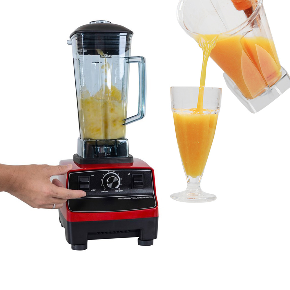 Professional power blender 3hp 2l heavy duty commercial for Alpine cuisine power juicer