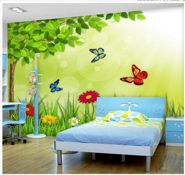 Personnalisé 3d papier peint 3d peintures murales de papier peint ...