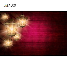 Laeacco Ramadan Festival Lanterns Fasting Islam Eid Mubarak Photographic Background Scene Photography Backdrops For Photo Studio fasting girls
