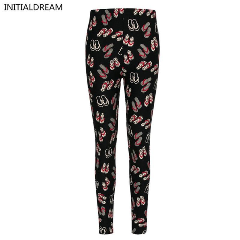 high quality sexy   leggings   women Floral Print   Leggings   stretch pants winter fun cotton soft   Leggings   printed