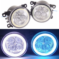 For FORD Renault Mitsubishi Suzuki DACIA NISSAN Peugeot Car Styling LED Fog Lamps Angel Eyes Daytime