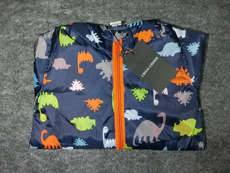 2829963df 80-120cm Cute Dinosaur Spring Children Coat Autumn Kids Jacket Boys ...