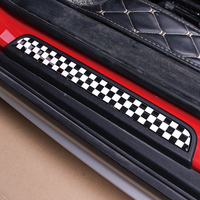 1 Set Union Jack Door Sill Welcome Plate Pedal Footboard Stickers for MINI Cooper F54 Clubman F55 F56 Countryman Styling