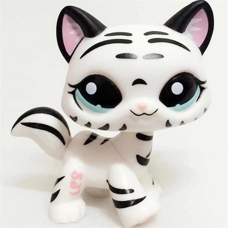 클래식 희귀 애완 동물 가게 lps 장난감 스탠드 작은 짧은 머리 고양이 핑크 블랙 올드 오리지널 개 닥스 훈트 셰퍼드 그레이트 데인 무료 배송