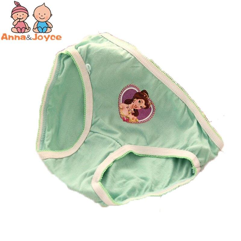 12pcs /lot baby Girls cartoon designs underwears children cotton short pants Kids panties atnn0002 1