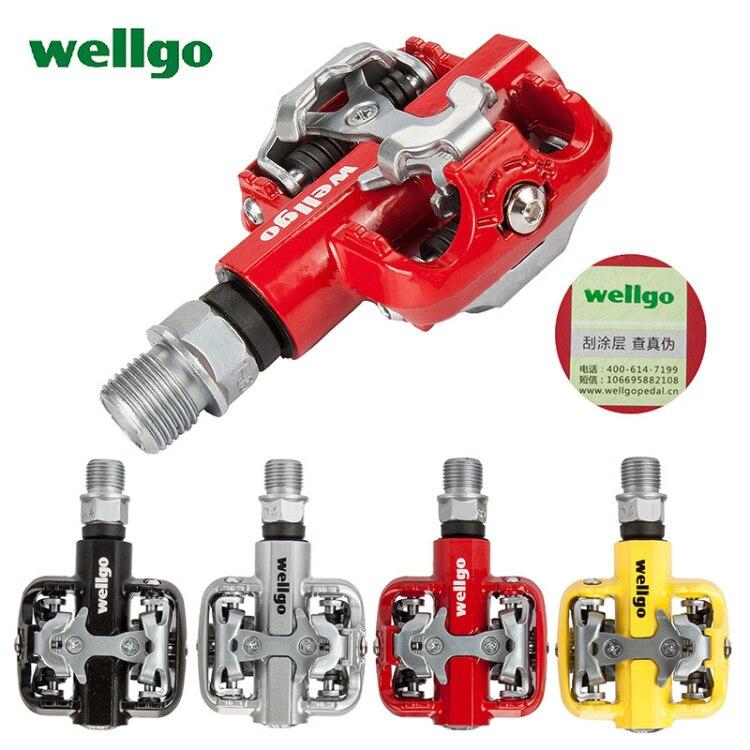 Wellgo WM001 Auto-Verrouillage Clipless Alliage De Magnésium VTT Vélo Pédales