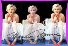 H-P786 Venta Caliente Nueva Marilyn Monroe #2 Rectángulo Funda de Almohada Fundas de Almohada con cremallera Personalizado SQ00722-@ H0786
