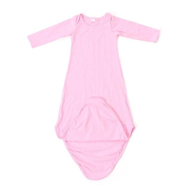 Online Shop Baby Sleep Gown Pink Newborn Sleep Gown Light Blue Baby ...