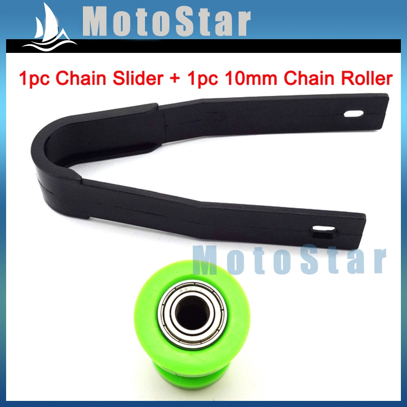 Plastic Chain Slider Guide for SSR Taotao Coolster Pit Dirt Bike 125cc 110cc 50c