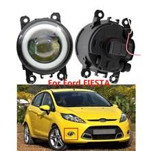 DRL Fiesta Ford Ecosport Fog-Light Daytime Angel-Eye LED Van-Box 2x