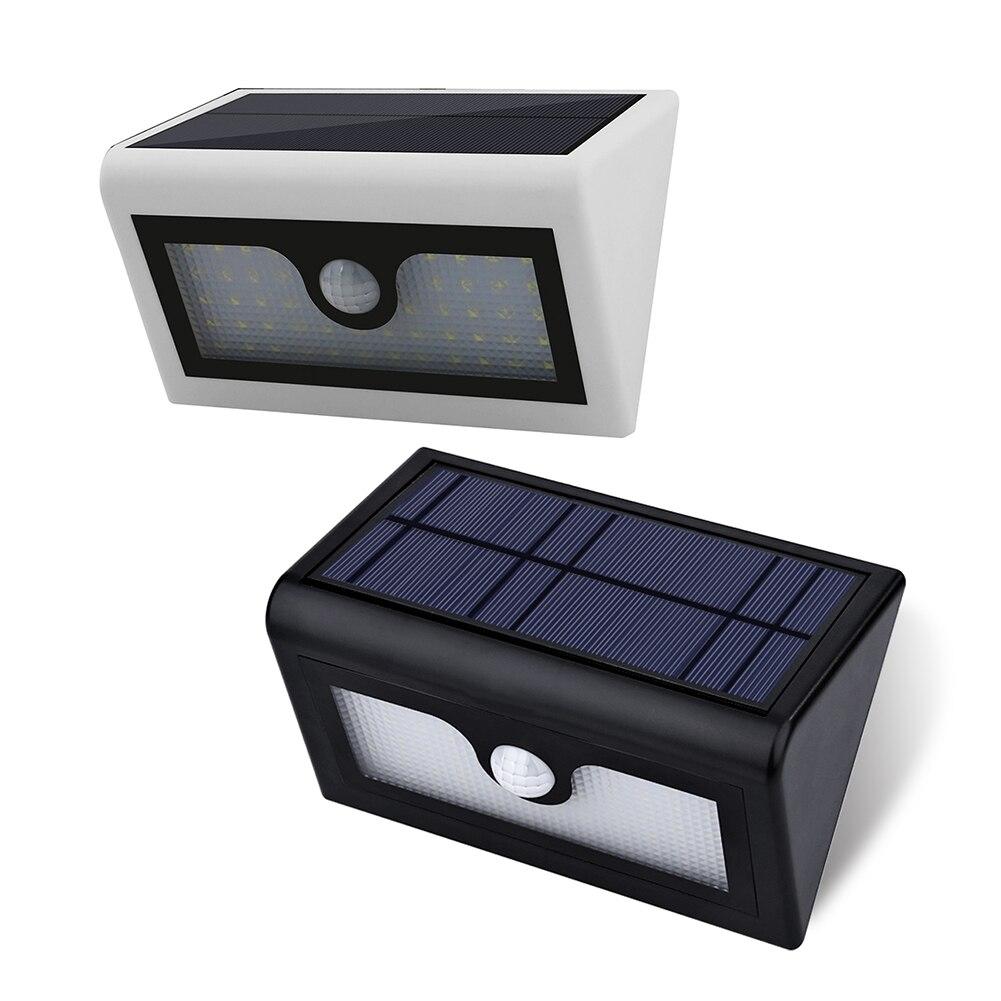 50 LED Waterproof PIR Motion Sensor Solar Power Outdoor Garden Lamp Polycrystalline Silicon  Solar Panel