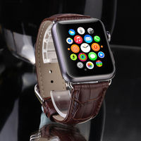 Genuine Leather Buckle Wrist Strap Band Belt For IWatch Apple Watch 38mm 42mm Watchband For Iwatch