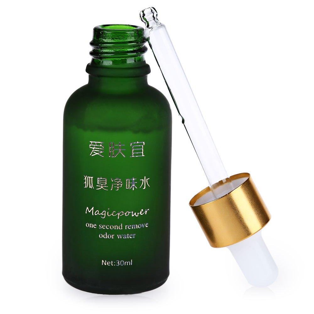30ML Green Remove Body Odor Stop Body Odor Removal Oil Antiperspirant Underarm Fragrances Deodorants Magic Water Underarm