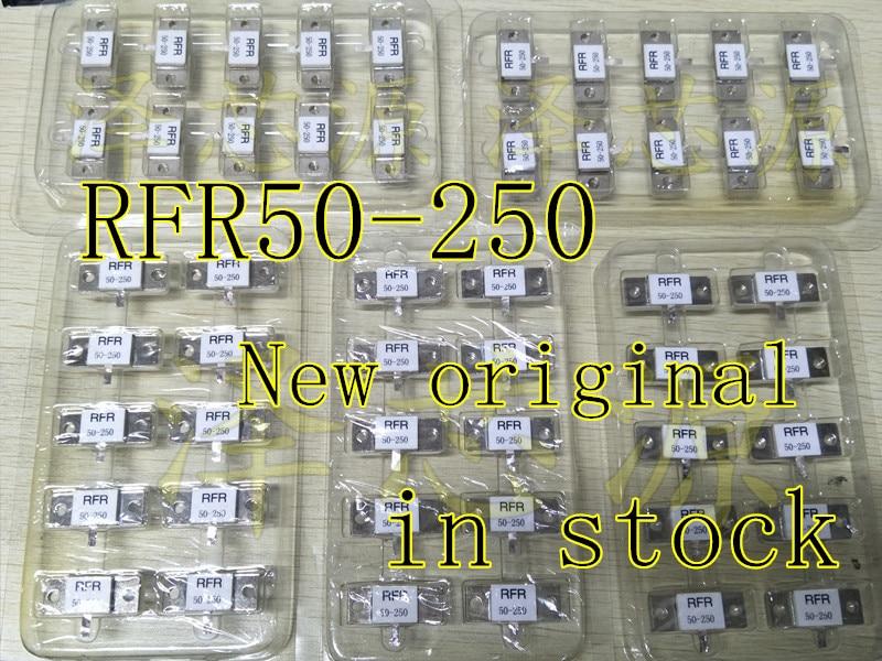 100% NEW High Frequency Resistance RFR50-250 RFR 50-250 RFR-50-250 50 Ohms 250W Dummy Load Resistor