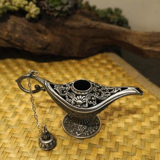 Hot Sale Fairy Tale Aladdin Magic Lamps Tea Pot Genie Lamp Vintage Toys Home Decoration For Children Gifts 4