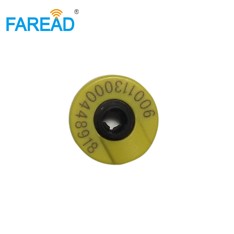 X60pcs ISO 11784/85 134.2KHZ RFID Electronic Tag Animal Ear Tag For Livestock Management FDX-B Chip Standard