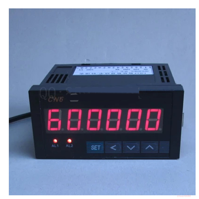 6 smart display electronic counter reversible industry Meters Relay