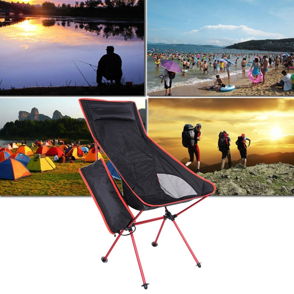 40*90*100cm Foldable Fishing Chair Lightweight Outdoor Sport Camping Travelling Chair With Carry Bag Detachable Picnic Chair New ...