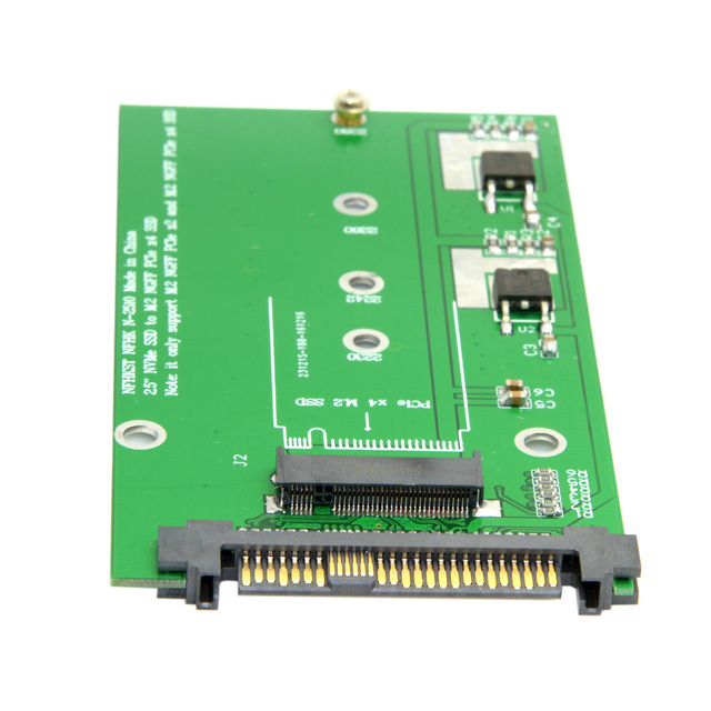 CY SFF-8639 NVME U.2 to NGFF M.2 M-key PCIe SSD Adapter for Mainboard Replace Intel SSD 750 p3600 p3700