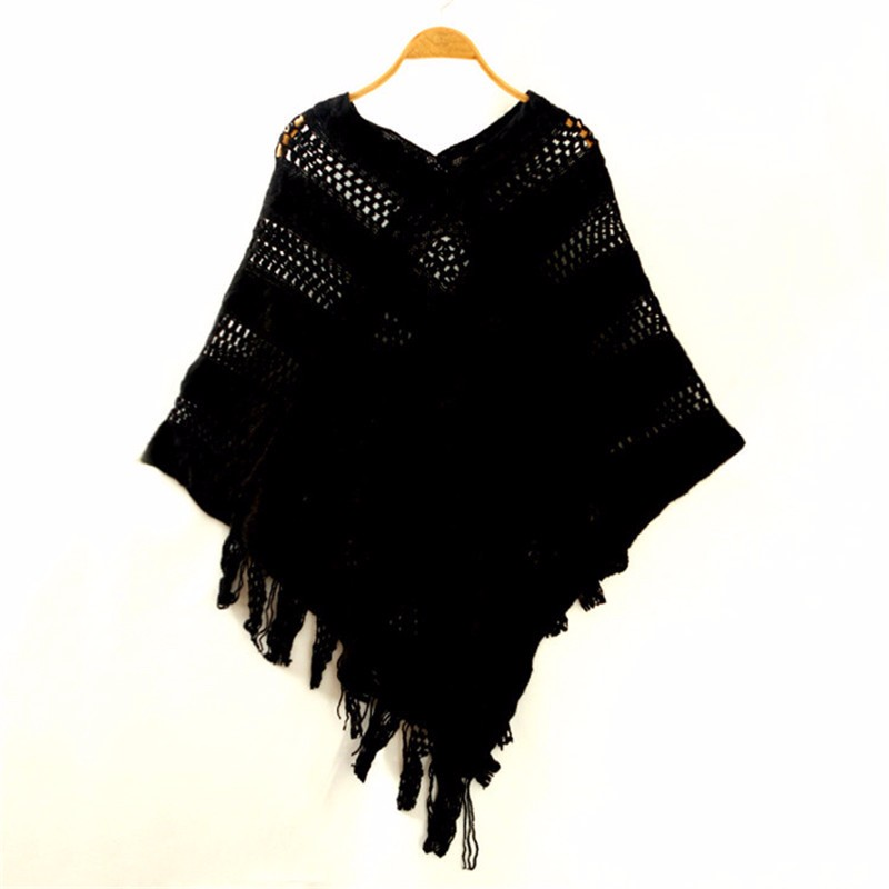 Sexy Striped Bat wing Poncho | Ponchos and Capes | Up to 60% Off Now