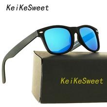 KeiKeSweet Luxury HD Polarized Men Women Rays Driving Sunglasses Hot Vintage Brand Designer Coating UV400 Top Male Sun Glasses