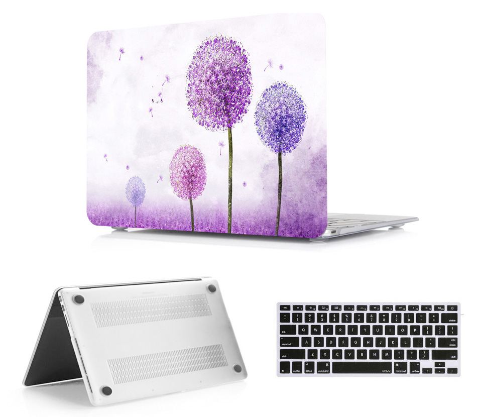 Laptop Protective Hard Shell Case Keyboard Cover Skin Set Bag Pouch For 11 12 13 15