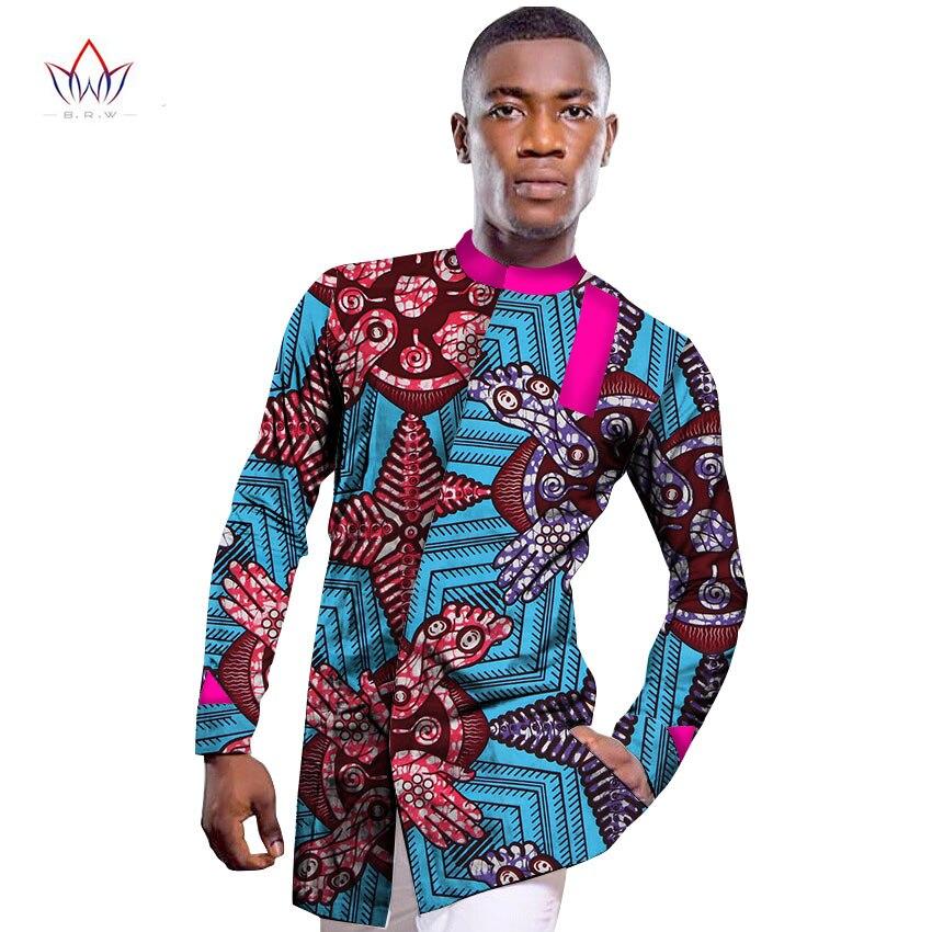 Wholesale 2017 african shirt for men print wax african for Bulk mens dress shirts