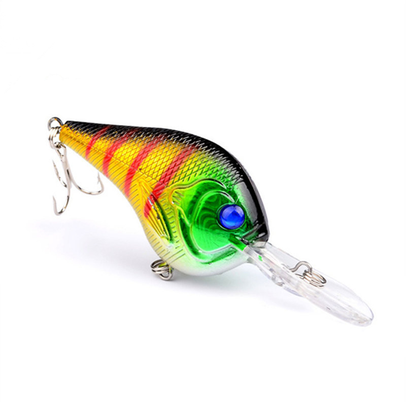 1pcs Crankbait 9.5cm 11g Wobblers Hard Fishing Tackle Swim bait Crank Bait Bass Fishing Lures 8 Colors pike perch FA-205 1pcs lifelike 8 5g 9 5cm minow wobblers hard fishing tackle swim bait crank bait bass fishing lures 6 colors fishing tackle