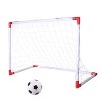Portable Folding Goal Kids Football Net Football Door Set Football Gate Toy