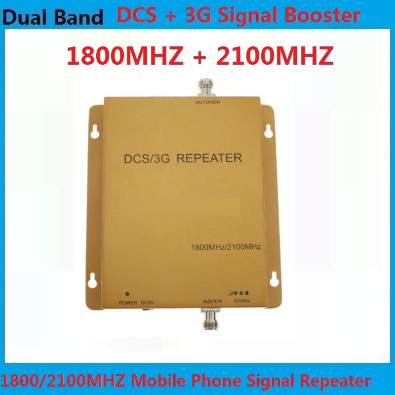 Amplificateur de signal de téléphone portable répéteur haute puissance 3G 4G prend en charge les amplificateurs de signal Mobile de données cellulaires 3g 4g 1800/2100