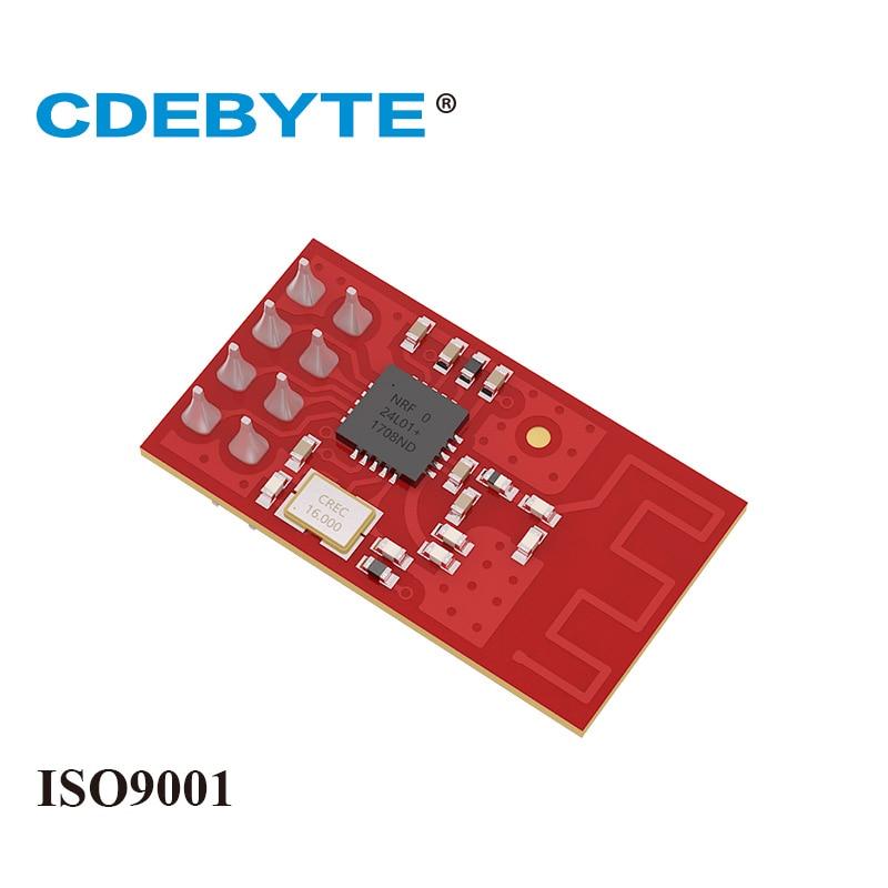 10pcs E01-ML01D NRF24L01P Radio Transceiver 2.4GHz SPI NRF24L01 SMD Module