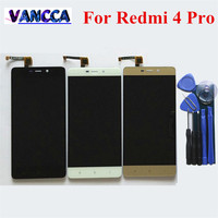 Touch Screen Glass And LCD Display Digitizer Assembly For Xiaomi Redmi 4 Pro Smart Phone White