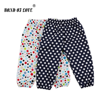 Clothing For Newborn Baby Pants Full Length Cotton Pant Toddler Boys Girls Dot Printed Loose Comfortable Clothes Costume