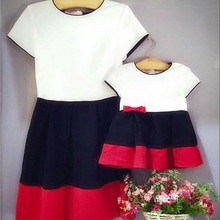 Mama And Daughter Dress Clothing Family