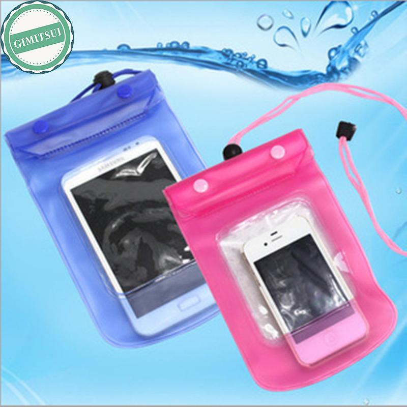 Waterproof Bag Case Cover Swimming Beach Pouch For iPhone Mobile Cell Phone, Water Sport ...