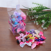 50pcs Pet Dog Grooming Accessories Products Hand-made Small Hair Bows Cat Clips Boutiqu