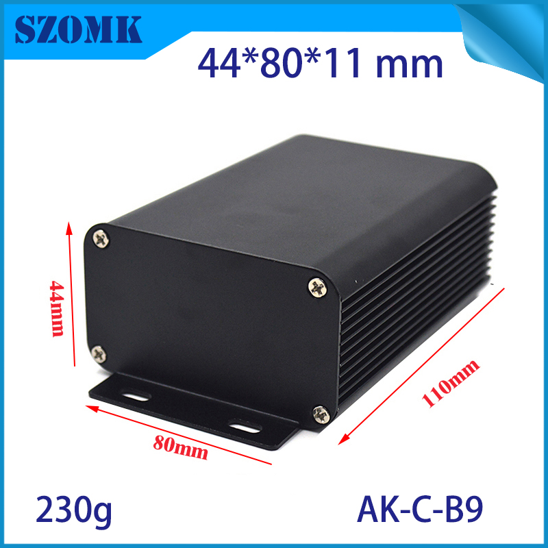 1 piece free shipping aluminum Black electronic metal case box in aluminium enclosures/housing for GPS car motor junction box in stock hikvision full hd 1080p security ip camera ds 2cd1141 i 4 megapixel cmos cctv dome camera poe replace ds 2cd3145f i