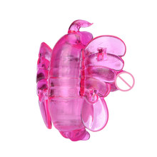Crystal Butterfly Portable Vibrator
