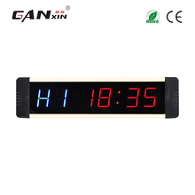 GAXNIN 1 Inch LED Gym Fitness Training Clock Countdown With Programable Mode