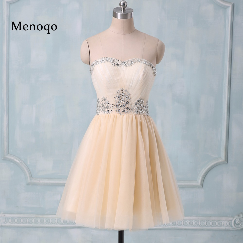 PRD275 Real Photo Teenager A line Sweetheart Beaded Party   dresses   2018 short mini tulle   cocktail     dress