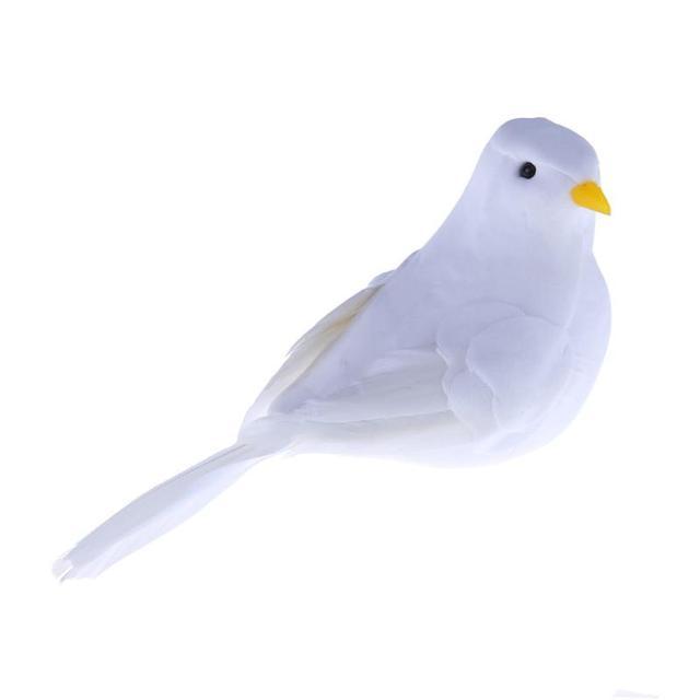 Simulation Schaum Tauben Hochzeit Dekoration Kind Vogel Spielzeug